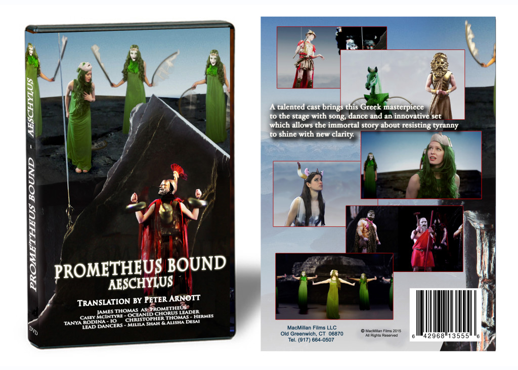 Prometheus Bound Staging DVD